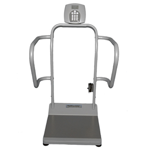 healthometer 1100kl stand on scale
